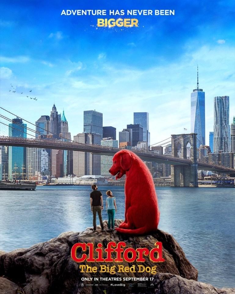 """Перший трейлер фантастичного сімейного фільма """"Великий червоний пес Кліффорд"""" / Clifford the Big Red Dog"""