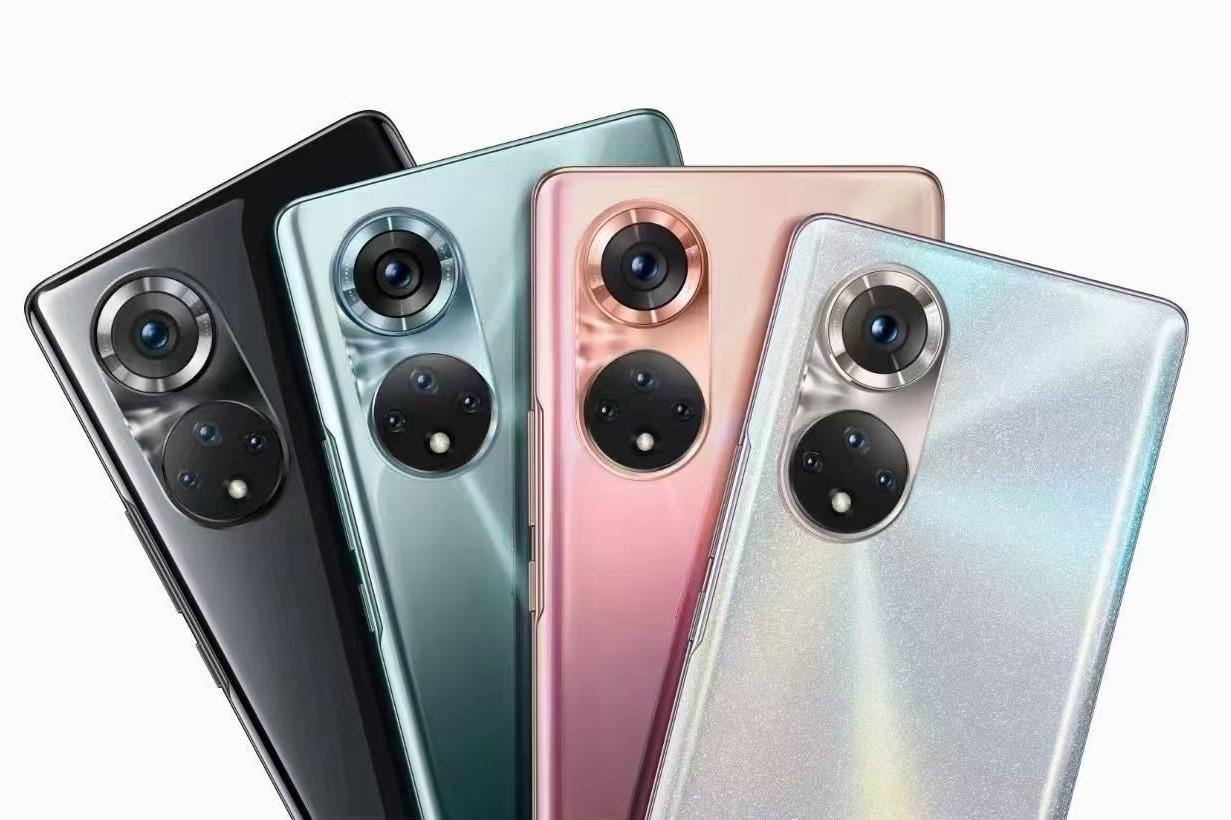 Первые официальные рендеры Honor 50 демонстрируют такой же дизайн основной камеры, как у Huawei P50 - ITC.ua
