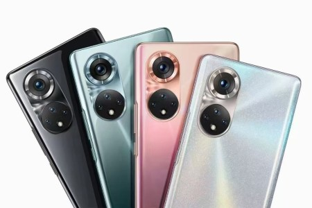 Первые официальные рендеры Honor 50 демонстрируют такой же дизайн основной камеры, как у Huawei P50