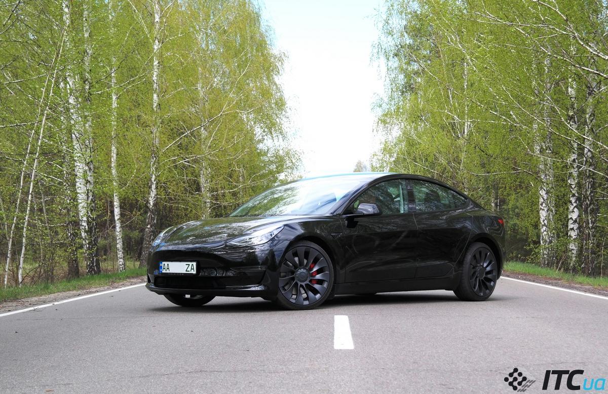 Тест-драйв Tesla Model 3 Performance 2021 (+ мнение владельца) - ITC.ua
