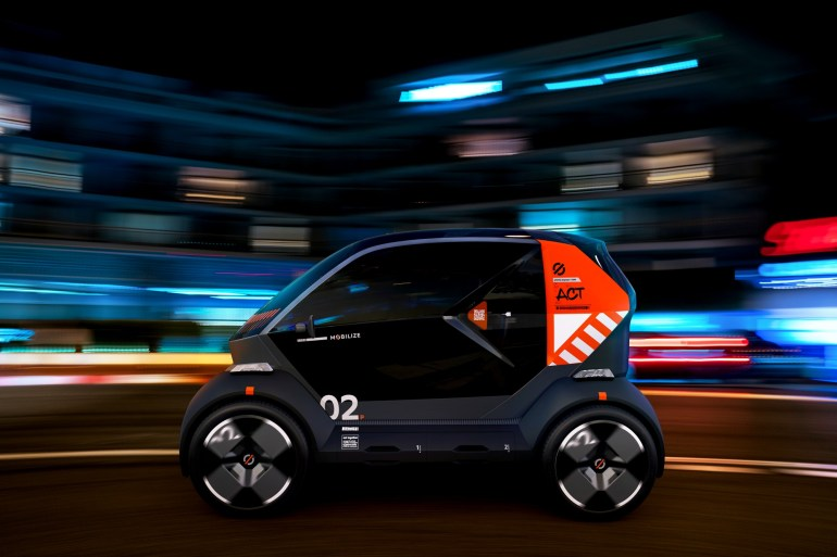 Renault представил сразу три компактных электромобиля из семейства Mobilize - DUO, BENTO и HIPPO