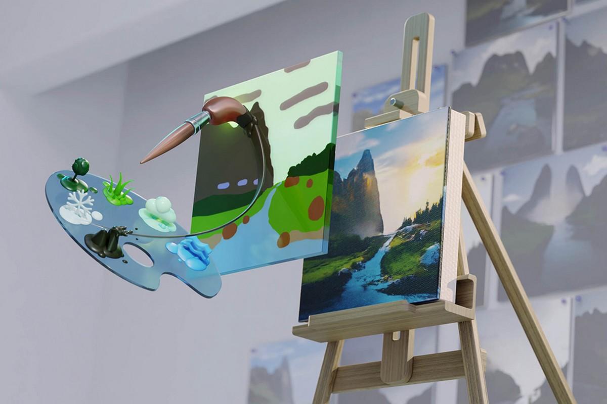 NVIDIA запустила бета-тест Canvas — улучшенного редактора на нейросетях, превращающего наброски в фотореалистичные изображения [+ новые приложения Adobe Substance 3D и июньский драйверStudio] - ITC.ua