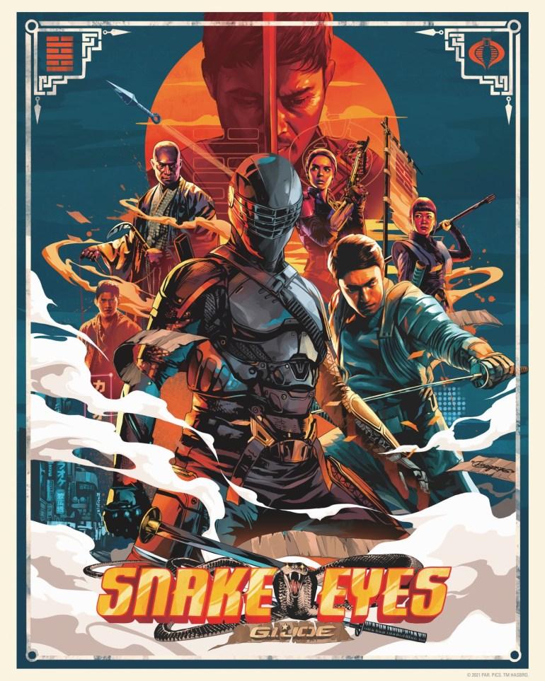 """Новый трейлер боевика «Snake Eyes: G.I. Joe Origins» / """"Очі змії: Початок Джі.Ай.Джо"""" (премьера уже через месяц)"""