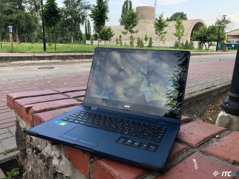 Обзор защищенного ноутбука Acer ENDURO Urban N3: «паркетник» для выездных работ