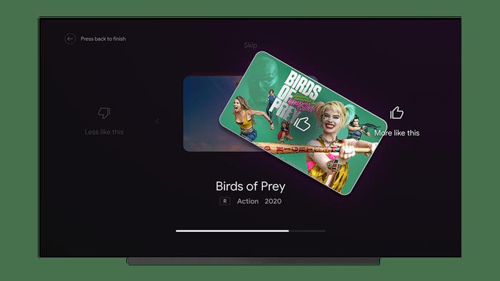 Система Android TV переняла очередные функции из оболочки Google TV