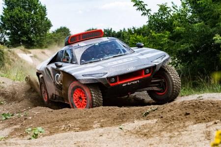 Немцы построили электрический багги Audi RS Q e-tron с мощностью 500 кВт и батареей на 50 кВтч для участия в ралли «Дакар»