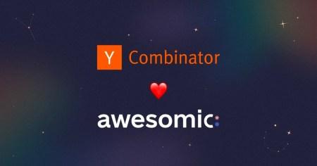 Український стартап Awesomic отримав $125 тис. інвестицій від Y Combinator