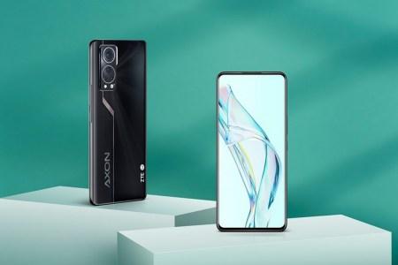 ZTE представила смартфон Axon 30 5G — с подэкранной камерой второго поколения, Snapdragon 870 и зарядкой на 55 Вт