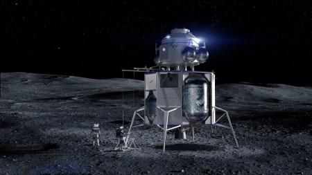 Джефф Безос предложил NASA скидку в $2 млрд в обмен на участие посадочного модуля Blue Origin в лунном проекте «Артемида»