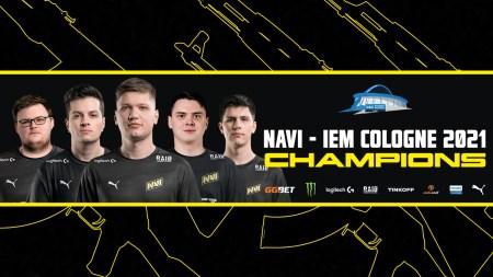 NaVi стали переможцями турніру IEM Cologne з CS:GO. За перемогу гравці отримають 400 000 доларів