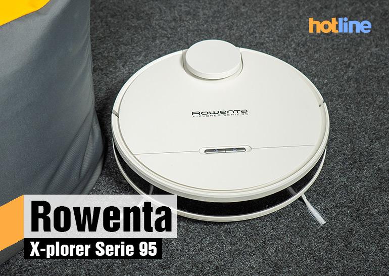 Видеообзор робота-пылесоса Rowenta X-plorer Serie 95