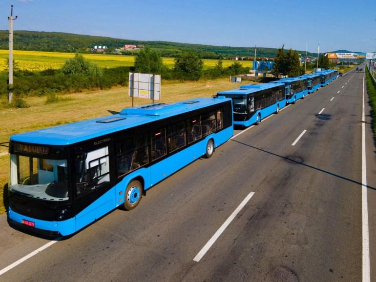 """Ужгород закупить 10 електробусів """"Електрон Е18"""" та 10 зарядних станцій для них за 99 млн грн в рамках Кіотського протоколу"""