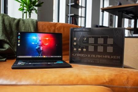 ASUS в сотрудничестве с диджеем Аланом Уокером выпустила специальную версию игрового ноутбука ROG Zephyrus G14 — с самодельным DJ-проигрывателем в комплекте