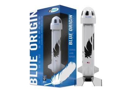 Кому уменьшенную (но летающую!) копию ракеты New Shepard компании Blue Origin за $70?