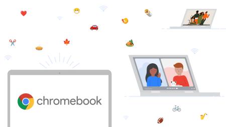 Chrome OS теперь имеет предустановленное приложение Google Meet и поддержку eSIM
