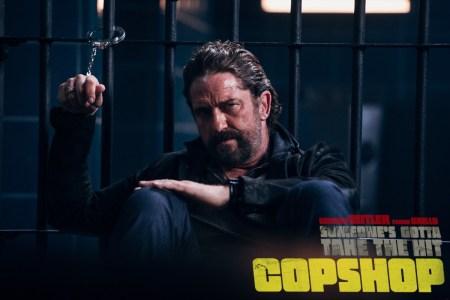 Перший трейлер комедійного бойовика Copshop / «Хороший, поганий, коп» з Джерардом Батлером та Френком Ґрілло (прем'єра — 11 листопада 2021 року)