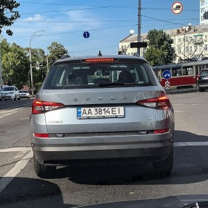 На вулицях Києва помітили перші поліцейські «Фантоми» на базі Skoda Kodiaq