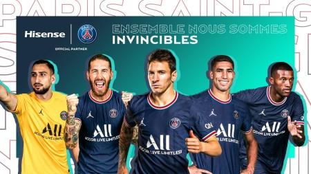 Hisense продовжує успішне партнерство з ФК «Парі Сен-Жермен»