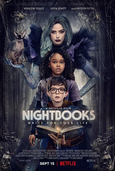 """Netflix снял подростковый фильм ужасов """"Nightbooks"""" / """"Ночные тетради"""" про ведьму, которая любит страшные истории на ночь [трейлер]"""