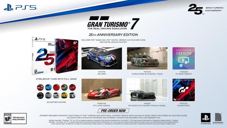 В PS Store відкрилися попередні продажі Gran Turismo 7 — стандартне видання для PS5 коштує 2 299 гривень