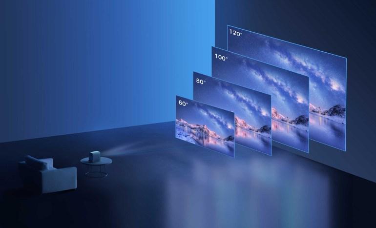 Xiaomi анонсувала недорогий проектор Mi Smart Projector 2 і роутер Mesh System AX3000