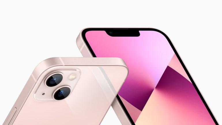 iPhone 13 получил переработанный блок камеры, уменьшенную «чёлку» и «самый производительный» процессор A15 Bionic