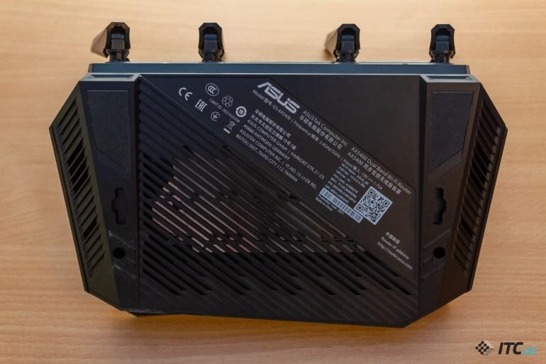 Обзор игрового роутера ROG STRIX GS-AX5400