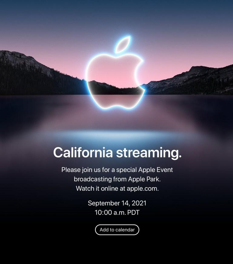 Apple проведет презентацию 14 сентября — на ней, вероятно, покажут новые iPhone и Apple Watch