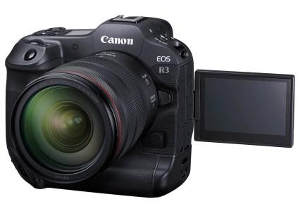 Беззеркальная камера Canon EOS R3 получила скоростную серийную съёмку, отслеживание взгляда пользователя, запись видео 6K/60p и цену $6000