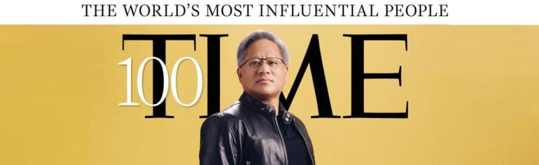 Глава NVIDIA Дженсен Хуанг вошёл в список 100 самых влиятельных людей мира 2021 года по версии Time