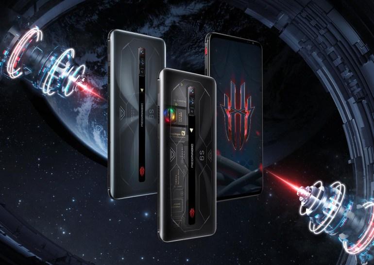 Игровой смартфон Nubia REDMAGIC 6S Pro получил SoC Snapdragon 888 Plus, сенсорные триггеры, вентилятор для охлаждения и цену от $600