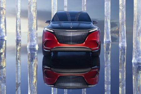 Фотогалерея дня: Электрокроссовер Mercedes-Maybach EQS — первый электромобиль премиального суббренда Maybach