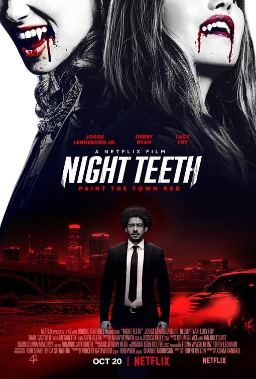 "Netflix снял вампирский боевик Night Teeth / ""Клыки ночи"" с Дебби Райан, Алфи Алленом и Меган Фокс [трейлер]"