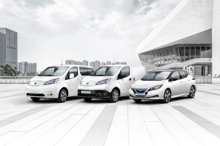Продажі електромобілів Nissan у Європі сягнули 250 тис. одиниць — це 208 тис. хетбчеків Leaf та 42 тис. фургонів e-NV200