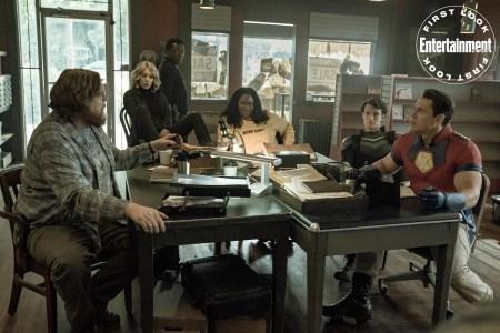Первое изображение из нового сериала Peacemaker / «Миротворец». Премьера на HBO Max в январе 2022 года, но Джеймс Ганн уже готов снимать второй сезон