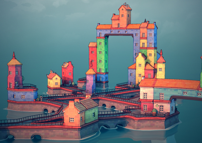 Townscaper: город на ладони - ITC.ua