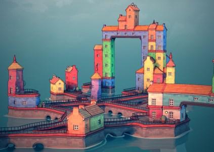 Townscaper: город на ладони
