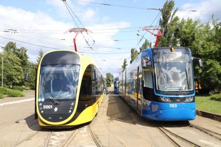 КМДА: На маршрути в Києві вийдуть нові трамваї — польські Pesa та вітчизняні «Татра-Юг» [відео]