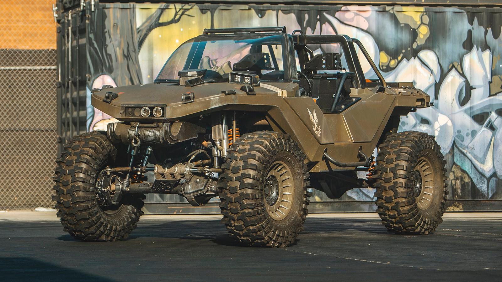 Кен Блок построил внедорожник Warthog из шутера Halo с мощностью свыше 1000 л.с., он успел сняться в фильме Free Guy [фото, видео] - ITC.ua