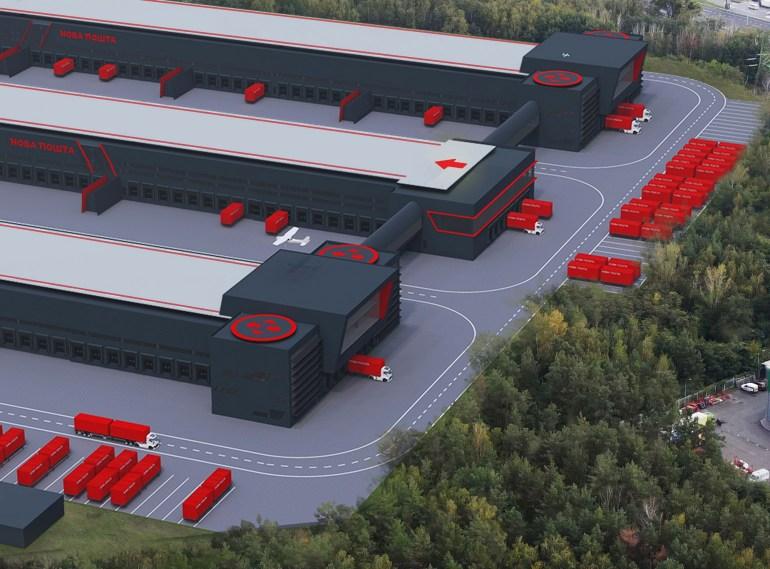 """""""Нова пошта"""" побудує за 1 млрд грн надсучасний сортувальний термінал біля аеропорту «Бориспіль», який буде обробляти понад 100 тис. посилок на годину"""