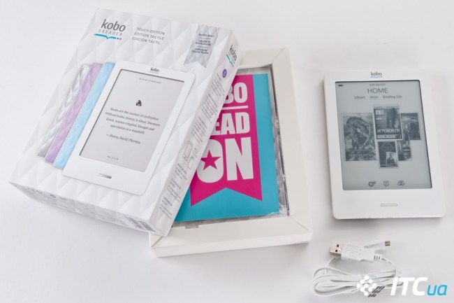 Обзор ридера Kobo eReader Touch Edition