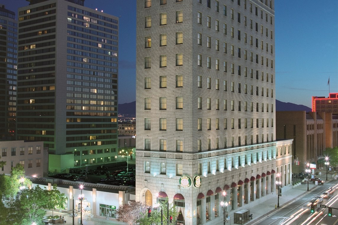 Kimpton Hotel Monaco Salt Lake City Utah World Renowned