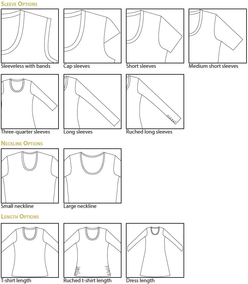 Idyllwild Top and Dress Digital Sewing Pattern (PDF