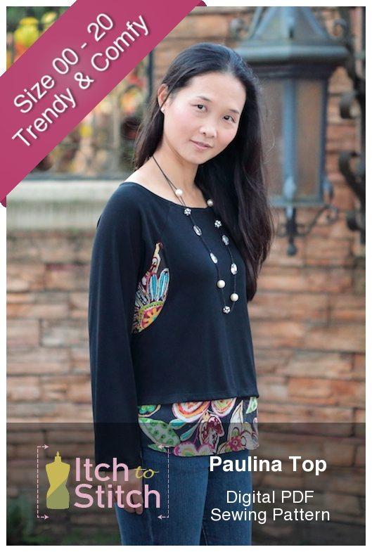 Paulina Top PDF Sewing Pattern