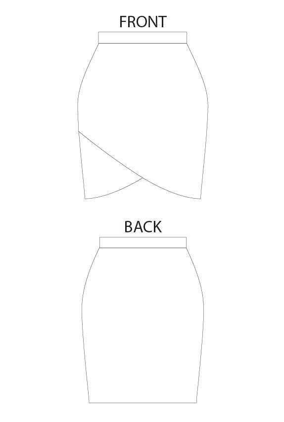 Lindy Petal Skirt Digital Sewing Pattern (PDF) - Itch To Stitch