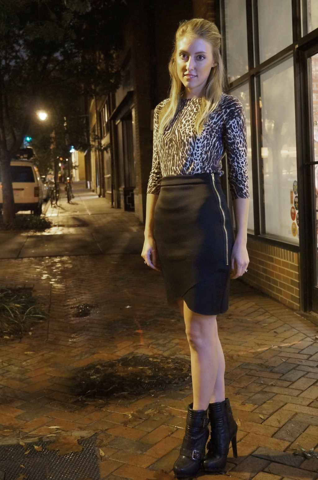 Itch to Stitch Birthday Tour - Allied's Hacked Lindy Skirt