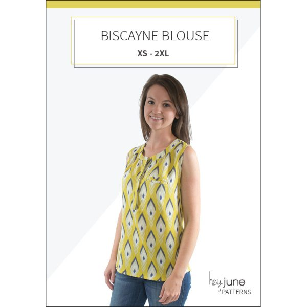 Biscayne Blouse by Hey June