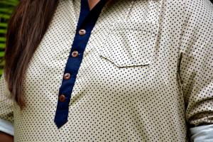 Mila Shirt by Cindy (close up)