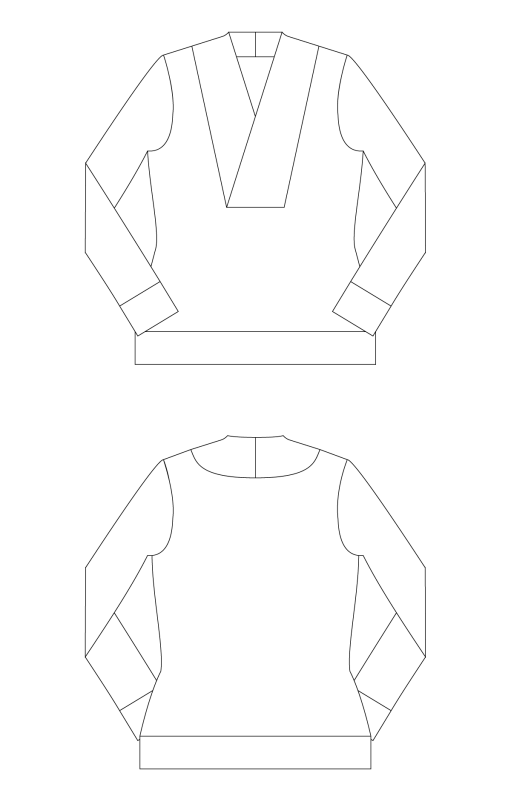 Irena-Knit-Top-PDF-Sewing-Pattern-Line-Drawings