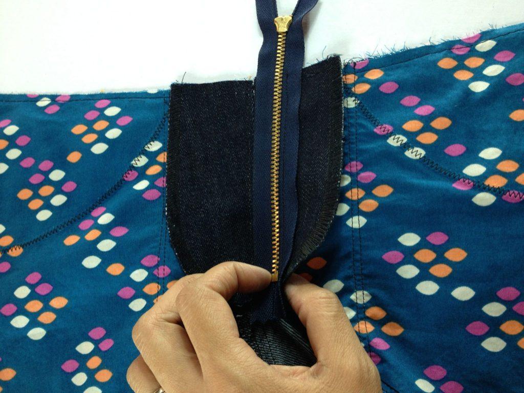 Liana Stretch Jeans Sewalong Day 8 stitch